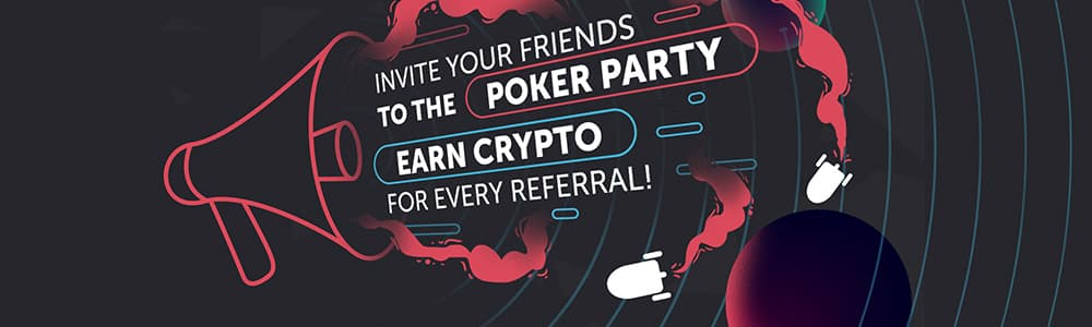 Earn Crypto for Every Referral | CoinPoker